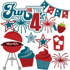 4th of July - Miss Kate Cuttables | Product Categories Scrapbooking SVG Files, Digital Scrapbooking, Cute Clipart, Daily SVG Freebies, Clip Art