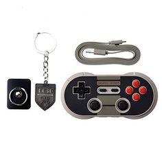 """Mando inalámbrico por Bluetooth. El mando """"8Bitdo NES30 Pro GamePad"""" Emula al mando de la primera consola de sobremesa NES, de la marca Nintendo. A diferencia de su antecesor NES, este mando dispone de además de los mismos botones de acción, otros dos adicionales a los laterales. Ideal para regalar,existen mandos de todo tipo, este […]"""