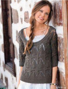 Вязание на спицах для женщин