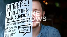 """Brandon Doman - Like Knows Like. Brandon Doman founded a very special storytelling initiative called """"The Strangers Project"""". Living in New ..."""