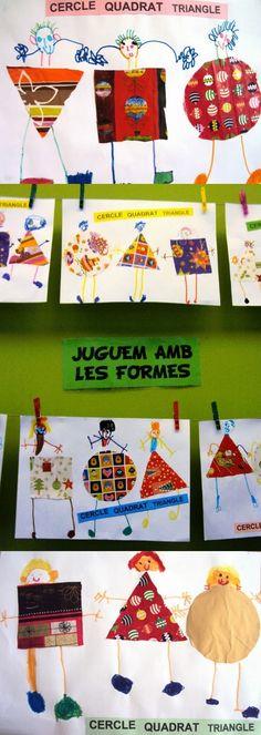 Aquest segon trimestre, els alumnes d'Educació Infantil han realitzat les següents activitats als Tallers de Plàstica.   TALLER 1: JUGUEM A...