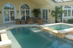 Pool in Port St. Lucie, Florida