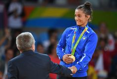 These Olympics are for judo fighter Majlinda Kelmendii, from Kosovo, a country…