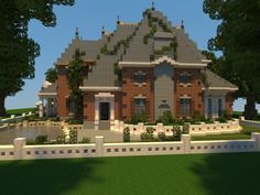 Renaissance Manor Minecraft Project