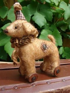 Pattern dog. How to sew a dog with his hands / Workshop