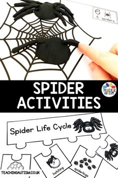 Are you looking for fun and educational spider activities for kids? Do you want activities that your students will love for your spider or Halloween theme? If so, this bundle of activities is perfect! Autism Teaching, Autism Activities, Hands On Activities, Classroom Activities, Teaching Resources, Reading Comprehension Passages, Comprehension Activities, Special Education Classroom, Autism Classroom
