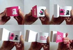 Make a Flip Book: Tutorial for making a flip book - E would love this!