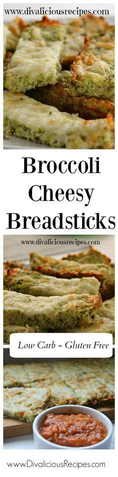 Once again, broccoli is stepping into the shoes of cauliflower and is holding up rather well with these cheesy bread sticks.
