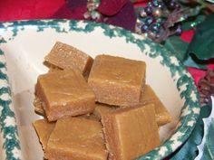 Sugar Free Holiday Peanut Butter Fudge