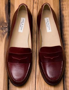 Penny loafers... to me they are never out of style