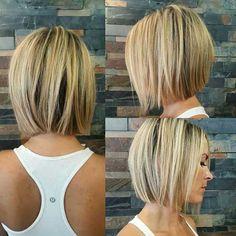 10.-Short-Blonde-Hairstyle » New Medium Hairstyles