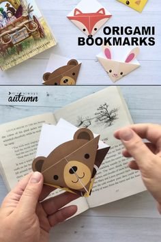 Origami for Everyone – From Beginner to Advanced – DIY Fan Creative Bookmarks, Diy Bookmarks, Corner Bookmarks, Origami Bookmark, How To Make Bookmarks, Bookmark Printing, Bookmark Ideas, Origami Ball, Origami Butterfly