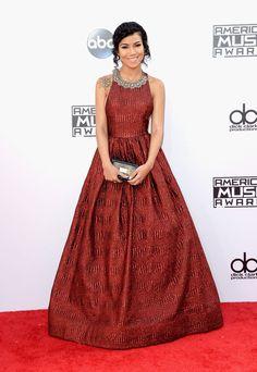 Jhene Aiko   Fashion At The 2014 American Music Awards