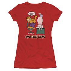 Garfield: Compute This Junior T-Shirt