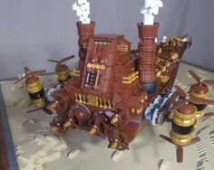 This Steampunk-themed Lego 'Star Wars' Imperial Destroyer is mind-blowing