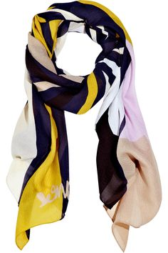 DVF scarf. Gosh darn you net-a-porter and your expensiveness!