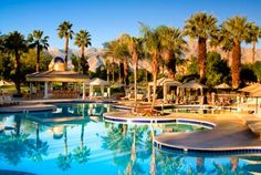 Pool at the Westin Mission Hills Resort near Palm Springs. Love going to this place, and can't wait to be there in one month!