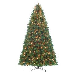 *****Pre-Lit Artificial Christmas Trees | Montgomery Fir Pre-Lit Artificial Christmas Tree - American Sale