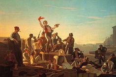 Jolly Boatman - John Caleb Bingham