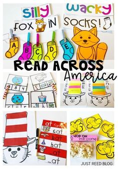 Celebrate Dr. Seuss's birthday and Read Across America week with these engaging activities, centers, and crafts for primary grades!