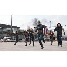 Captain America Civil War Airport Showdown Gallery Print