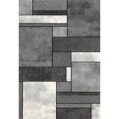 ALLOTAPIS - Tapis contemporain gris en polypropylène Orane | La Redoute