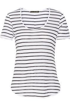 RAG & BONE Aria Striped Modal-Jersey T-Shirt. #ragbone #cloth #t-shirt