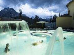 Engadin Bath Scuol in Switzerland