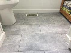 Classen Visiogrande Screed Light 35456 Concrete Laminate Flooring for laundry room Kids Bathroom Paint, Bathroom Tile Designs, Bathroom Design Small, Bathroom Interior Design, Master Bathroom, Bathroom Ideas, Small Bathrooms, Bathroom Inspiration, Bathroom Inspo