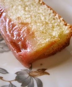 The Missing Flavor: Norwegian rhubarb cake