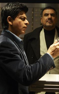 Shah Rukh Khan and Boman Irani - Don 2 (2011)