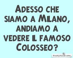 Toto' - Adesso che siamo a Milano, andiamo a vedere il famoso Colosseo?