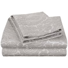 Alcott Hill Harker 600 Thread Count Sheet Set Size: Queen, Color: Grey