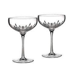 Waterford Crystal Lismore Essence Collector's Boxed Saucer Champagne Glass, Set of 2 | Bloomingdale's