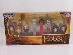 Pez Hobbit Collector's Series Numbered 113750 Unopened Peter Jackson