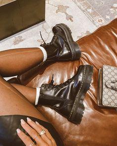 Women Fashion New Fashion – Women Dr. Martens, Platform Boots Outfit, Aesthetic Shoes, Fresh Shoes, Black Platform, Grunge Fashion, Ciabatta, Black Boots, Sneakers Fashion