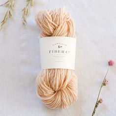 camellia fibers, handspun dyed with madder