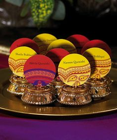 Indian wedding favors Via incasagiftscom