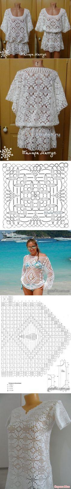 Поиск на Постиле: пляжные туники