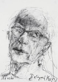 Bernard Kops,poet and playwright Life Of Christ, Playwright, Poet, Drama, Faces, Portraits, Artists, Gallery, Drawings
