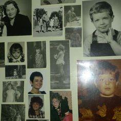 Har du också fotoalbum som ingen tittar i? Kolla nedan detta var ett projekt från 2013 (eller 2012?) som fortfarande glädjer mig och familjen. Collage över generationer från tider då bilder togs inte lika ofta som nu.. Du kanske hinner innan det bli dags att börja jobba? #nostalgi #foto