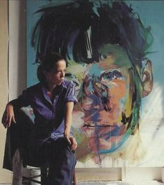 The pairing of Austrian artist Egon Schiele with Young British Artist Jenny Saville is an unusual one but this book reveals their stylistic and thematic similarities. Artist Art, Artist At Work, Jenny Saville Paintings, Face Art, Art Studios, Art World, Figurative Art, Contemporary Artists, Pop Art