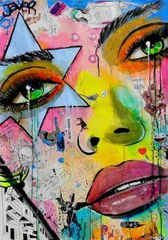 """Saatchi Online Artist Loui Jover; Drawing, """"everyday zen"""" #art"""