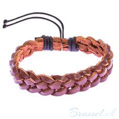 Lederarmband im Urban Style - http://bramel.ch/accessoires-shop/armband/lederarmband-im-urban-style/ http://bramel.ch/wp-content/uploads/2014/05/leder-armband-in-braun-600x600.jpg