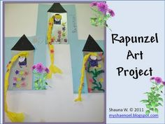 Cute Rapunzel Art Project