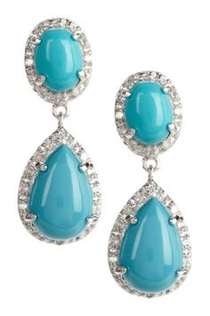 turquoise earrings!!!
