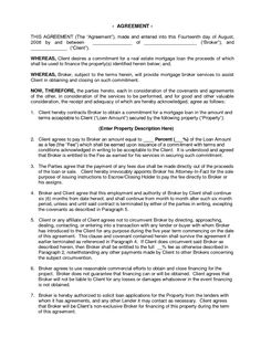 Serviceagreementtemplate General Contract For Services - Commercial service agreement template
