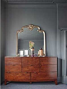 Living by Christiane Lemieux Wood with Metal Chevron frames - For all the latest ranges from the best brands go to House of Fraser online Magical Bedroom, Chevron Frames, House Of Fraser, Bedroom Vintage, Chest Of Drawers, Interior Design, Interior Ideas, Modern Interior, New Homes