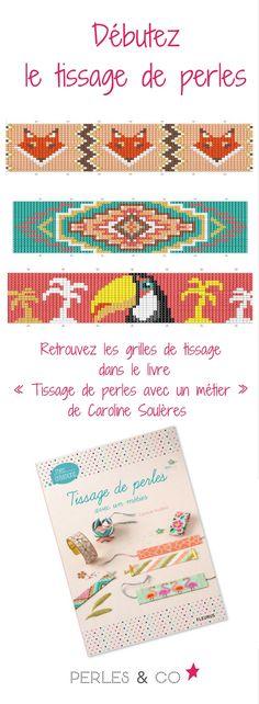 Pour celles et ceux qui souhaitent débuter le tissage de perles, voici un livre pour les débutants qui explique le tissage de perles avec un métier à tisser. Vous trouverez également des dizaines de modèles avec leur grille de tissage... un must have pour les apprentis perleuses ! >> https://www.perlesandco.com/Tissage_de_perles_avec_un_metier-p-83574.html
