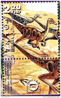 DINOSAUR DINOSAURS JURASSIC T.REX PREHISTORY PREHISTORIC - ISRAEL 2000 MNH SET